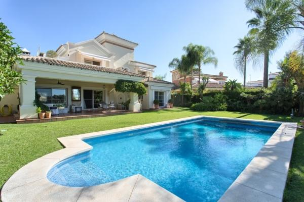 Sold: 4 Bedroom3, Bathroom Villa in La Quinta Golf, Benahavis